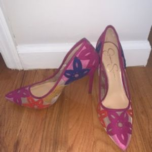 Jessica Simpson Colorful Pumps